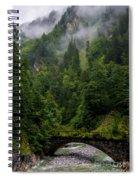 Old Bridge - Austrian Alps - Austria Spiral Notebook