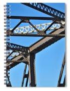 Old Bridge Structure Spiral Notebook