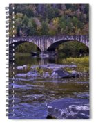 Old Bridge Two Spiral Notebook