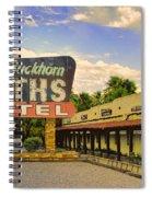 Old Buckhorn Baths Spiral Notebook