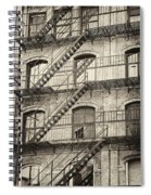 Old Building II. Spiral Notebook