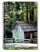 Old Building Spiral Notebook