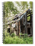 Old Building - Liberty Washington Spiral Notebook