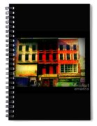 Old Buildings 6th Avenue - Vintage Nyc Architecture Spiral Notebook