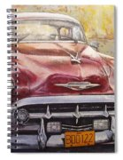 Old Cadillac Spiral Notebook