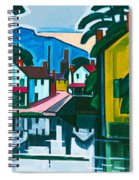 Old Canal Port Spiral Notebook