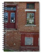 Old Cannery In Belfast Maine Img 6132 Spiral Notebook