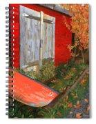 Old Canoe Spiral Notebook