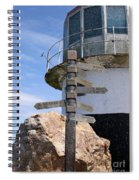 Old Cape Point Lighthouse In South Africa Spiral Notebook
