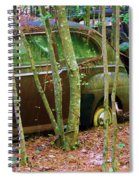 Old Car In The Woods Spiral Notebook