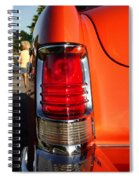 Old Car Tail Light Spiral Notebook