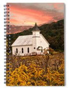 Old Carmel Ohio Church Spiral Notebook
