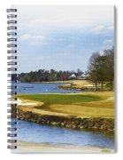 Old Carolina Golf Club Spiral Notebook