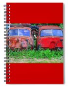 Old Cars Spiral Notebook