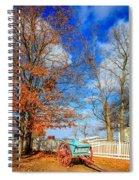 Old Cart Spiral Notebook