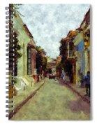 Old Cartagena 1 Spiral Notebook