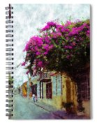 Old Cartagena 2 Spiral Notebook