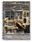 Old Cat Grader Spiral Notebook