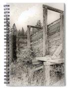 Old Cattle Ramp Spiral Notebook