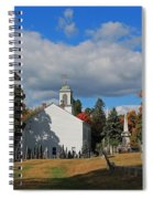 Old Cemetery Harvard Ma Spiral Notebook