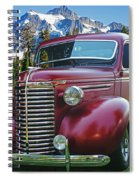 Old Chevy Pickup Ca5073-14 Spiral Notebook