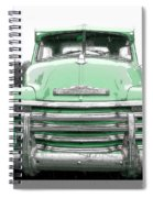 Old Chevy Pickup Truck Spiral Notebook