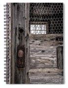 Old Chicken Coop Spiral Notebook