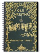 Old Christmas Spiral Notebook