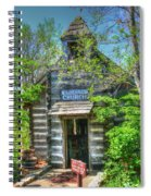 Old Church In The Woods Spiral Notebook