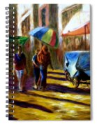 Old City Ahmedabad  Series 2 Spiral Notebook