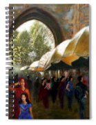 Old City Ahmedabad Series 7 Spiral Notebook