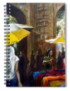 Old City Ahmedabad Series 8 Spiral Notebook