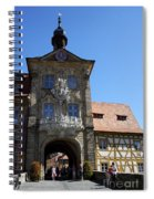 Old City Hall - Bamberg Spiral Notebook