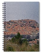 Old City Of Dubrovnik  Spiral Notebook