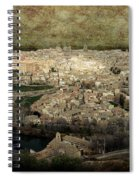 Old City Of Toledo Spiral Notebook