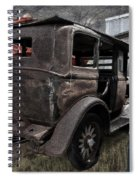 Old Classic Car Spiral Notebook