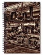 Old Climax Engine No 4 Spiral Notebook