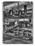 Old Climax No 4 Spiral Notebook