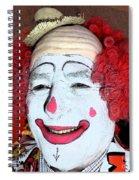 Old Clown Backstage Spiral Notebook