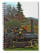 Old Cog Spiral Notebook