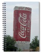 Old Coke Silo Spiral Notebook