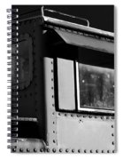 Old Copula Bw Spiral Notebook
