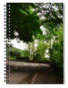 Old Country Road - Peak District - England Spiral Notebook