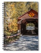 Old Covered Bridge Vermont Spiral Notebook