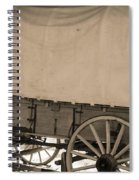 Old Covered Wagon Out West Spiral Notebook
