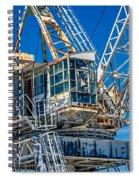 Old Crane  Spiral Notebook