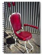 Old Dentist Chair Spiral Notebook