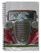 Old Desoto Spiral Notebook