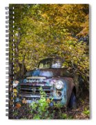 Old Dodge Spiral Notebook