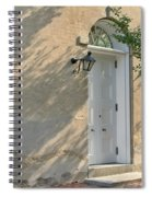 Old Door And Stucco Wall Spiral Notebook